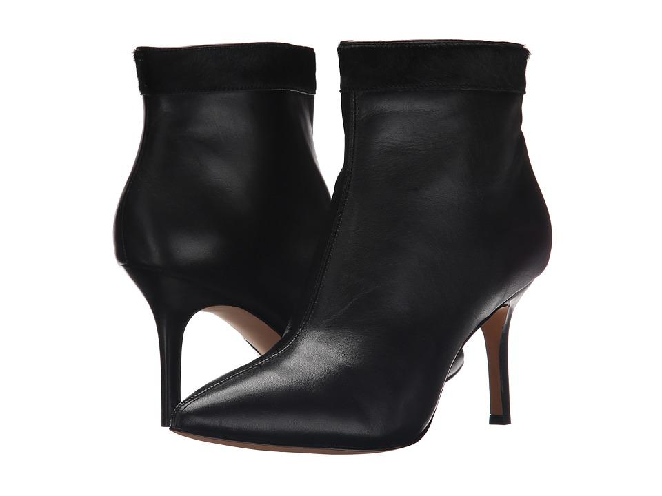 Nicole Miller Artelier - Chelsea (Black Leather/Black Pony) Women's Boots