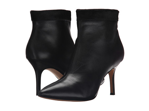 Nicole Miller Artelier - Chelsea (Black Leather/Black Pony) Women