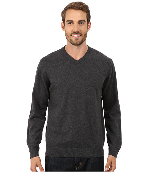 Report Collection - V-Neck Sweater (Charcoal) Men