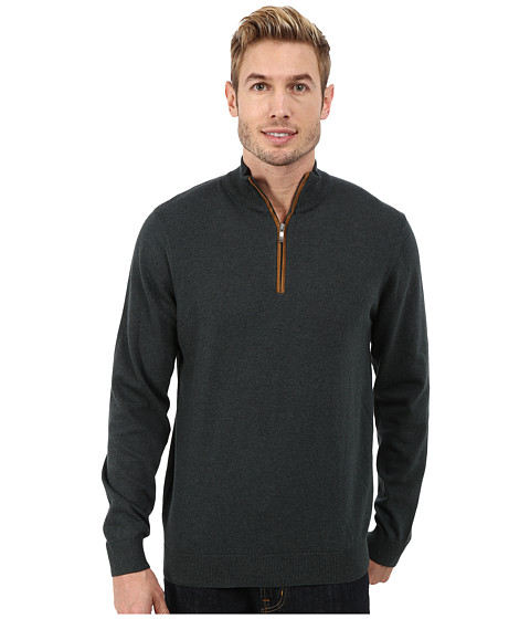 Report Collection - 1/4 Zip Sweater (Forest Green) Men