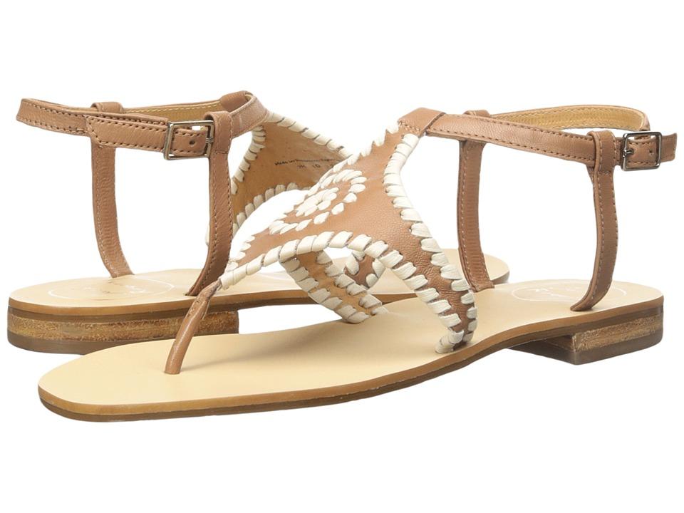 Jack Rogers - Maci (Cognac/Bone) Women's Sandals
