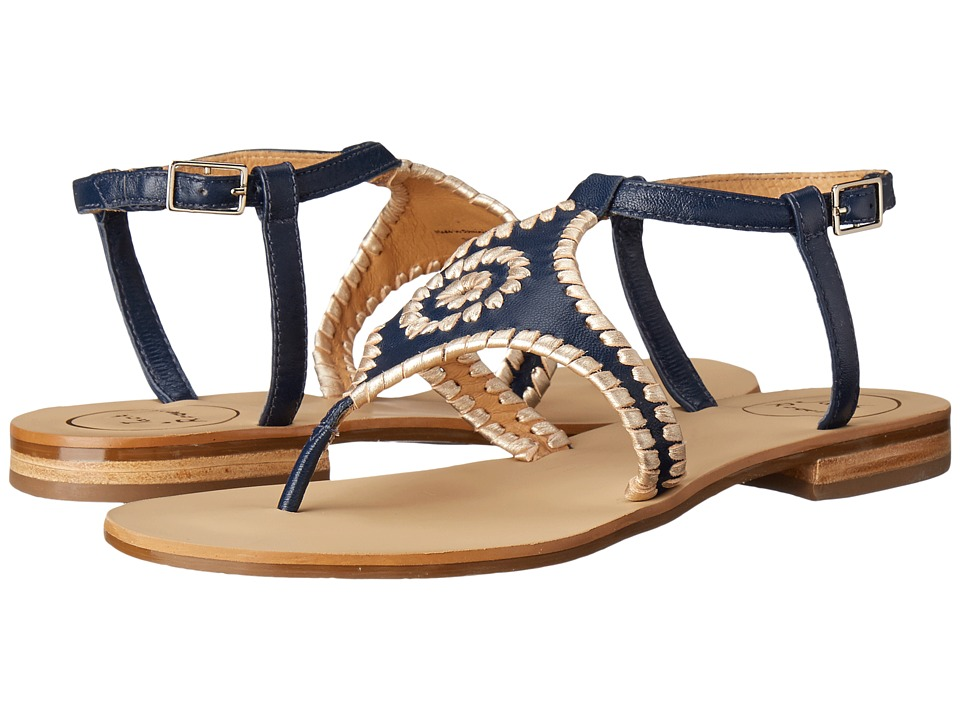 Jack Rogers - Maci (Midnight/Platinum) Women's Sandals