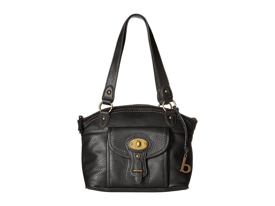 b.o.c. - Chelmsford Satchel (Black) Satchel Handbags
