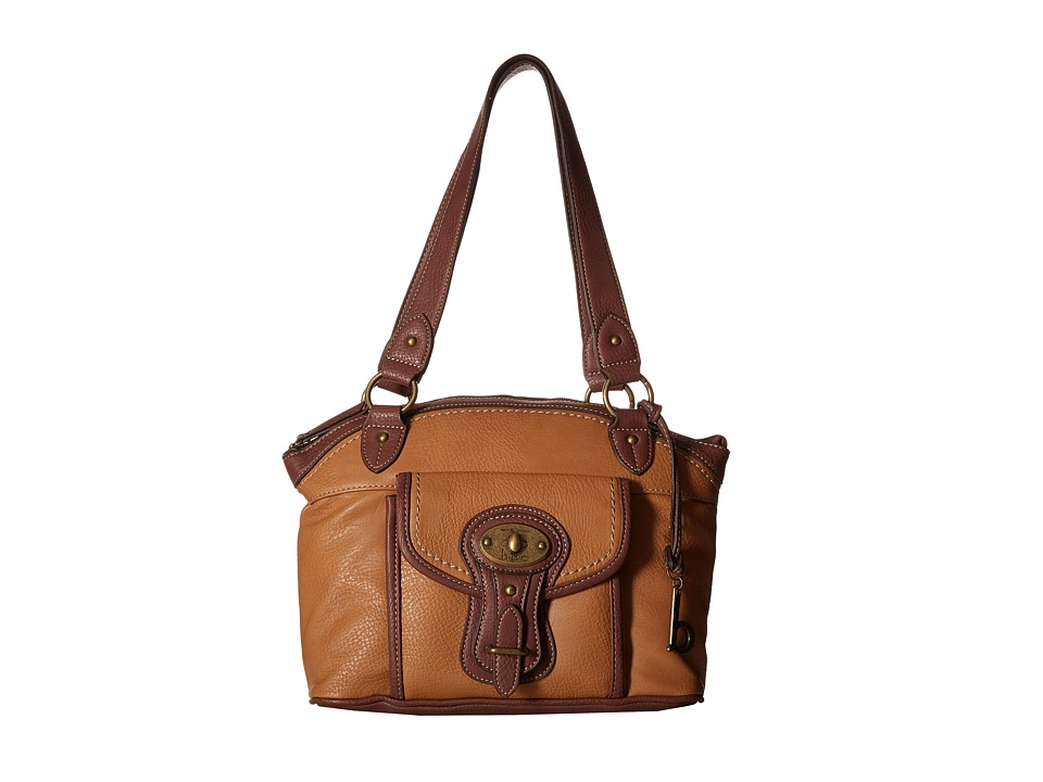 b.o.c. - Chelmsford Satchel (Camel/Walnut) Satchel Handbags