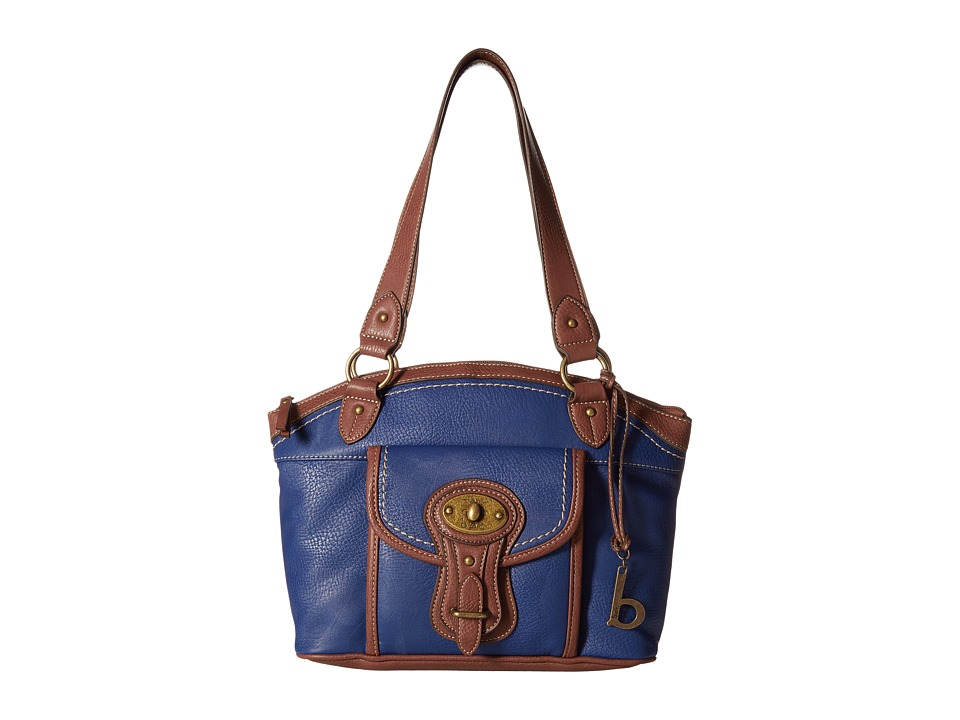 b.o.c. - Chelmsford Satchel (Midnight/Walnut) Satchel Handbags
