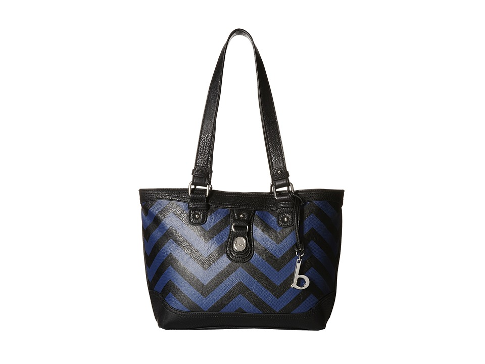 b.o.c. - Swansea Tote (Black/Midnight) Tote Handbags