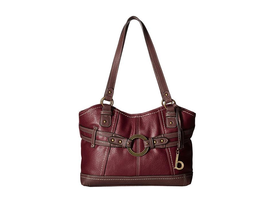 b.o.c. - Brimfield Scoop Tote (Burgundy/Walnut) Tote Handbags