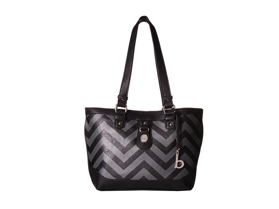 b.o.c. - Swansea Tote (Black/Grey) Tote Handbags