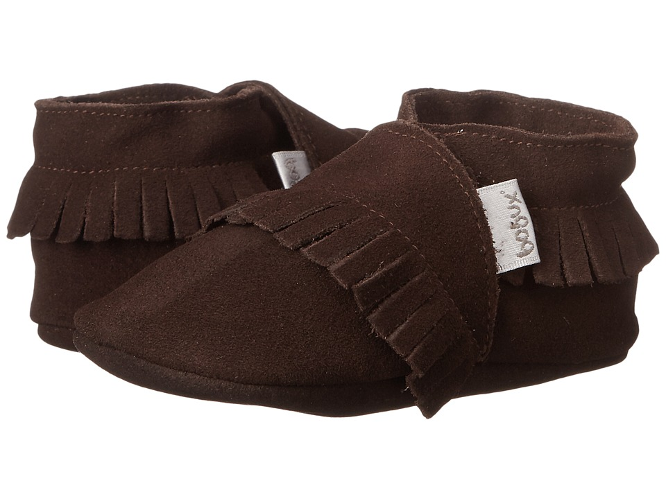 Bobux Kids - Soft Sole Mocassin (Infant) (Chocolate) Kid's Shoes