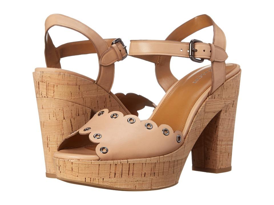 COACH - April (Beechwood Soft Vegan Leather) High Heels