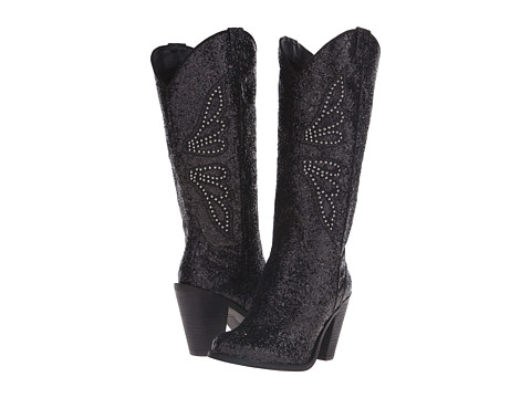 Jessica Simpson - Caralee (Chucky Glittter/Black) Women's Boots