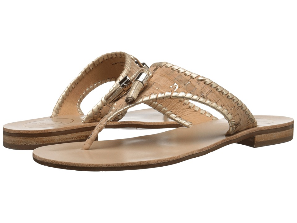 Jack Rogers - Alana (Cork/Gold) Women's Sandals