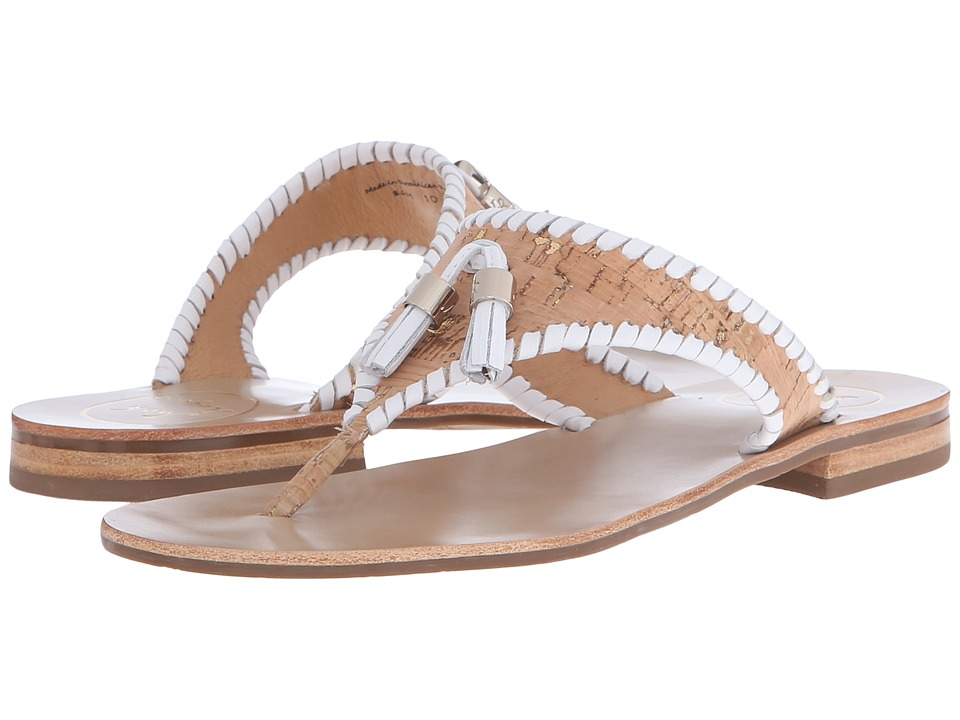 Jack Rogers - Alana (Cork/White) Women's Sandals