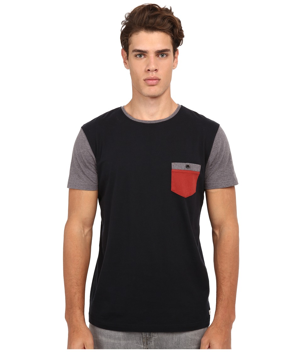 Quiksilver - Bay Sic Knit Top (Anthracite) Men's T Shirt