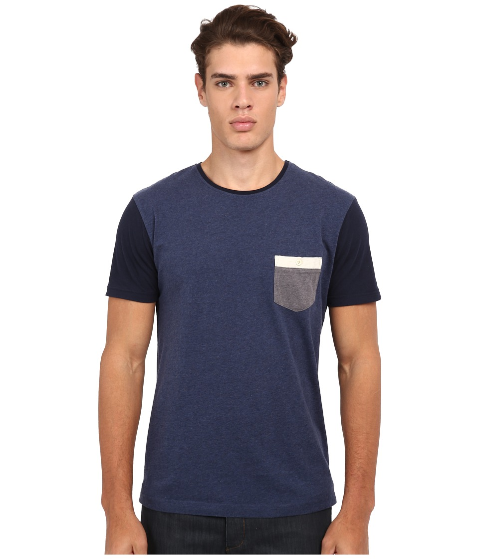 Quiksilver - Bay Sic Knit Top (Medieval Blue) Men's T Shirt