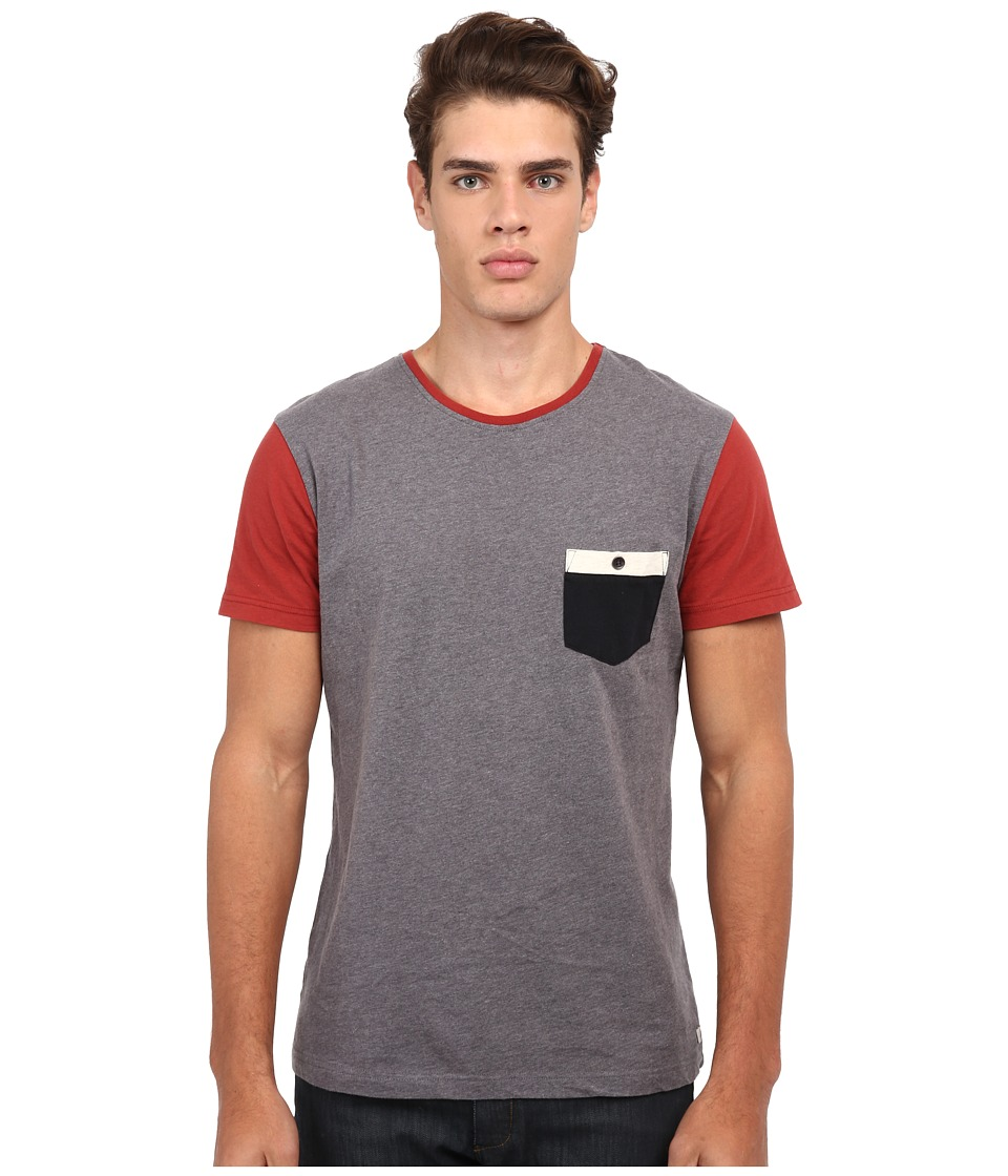 Quiksilver - Bay Sic Knit Top (Medium Grey Heather) Men's T Shirt