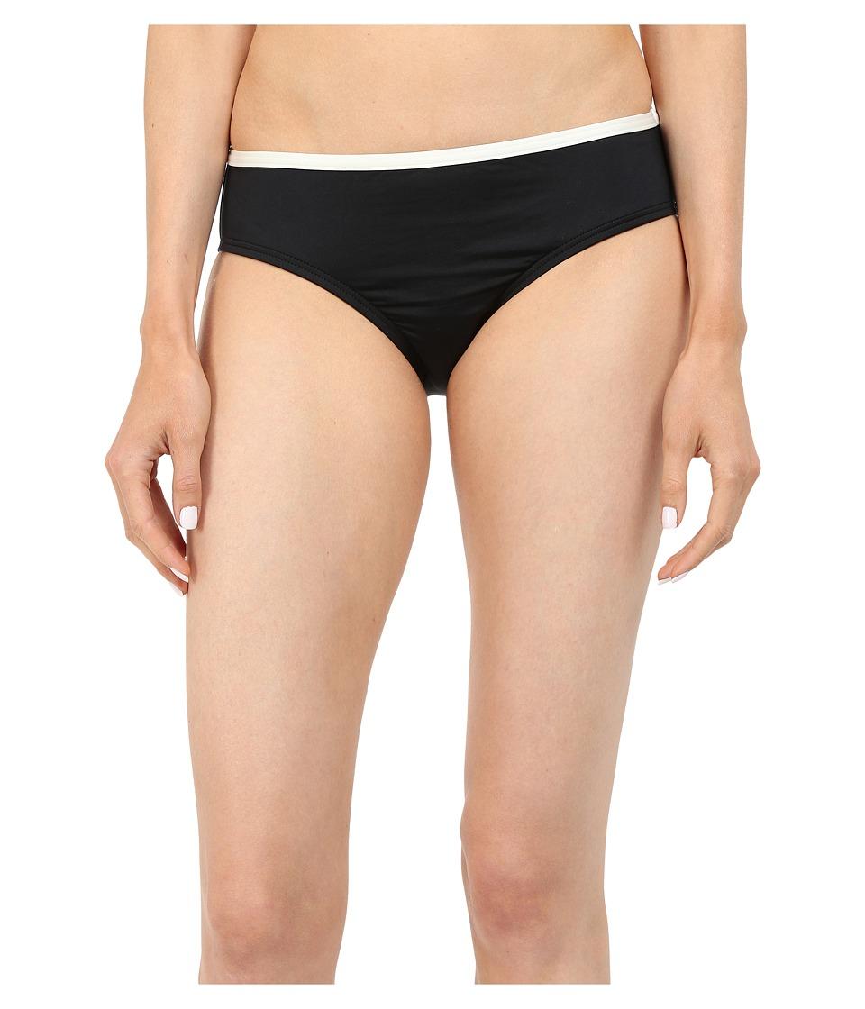 Kate Spade New York - Plage Du Midi Hipster Bottom (Black) Women's Swimwear