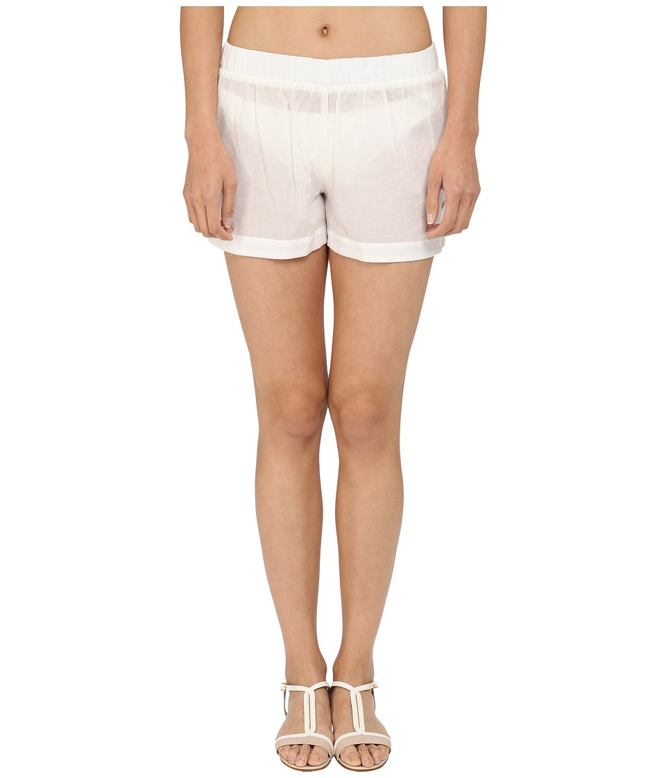 Kate Spade New York - Marina Piccola Shorts Cover-Up (Cream) Women's Swimwear