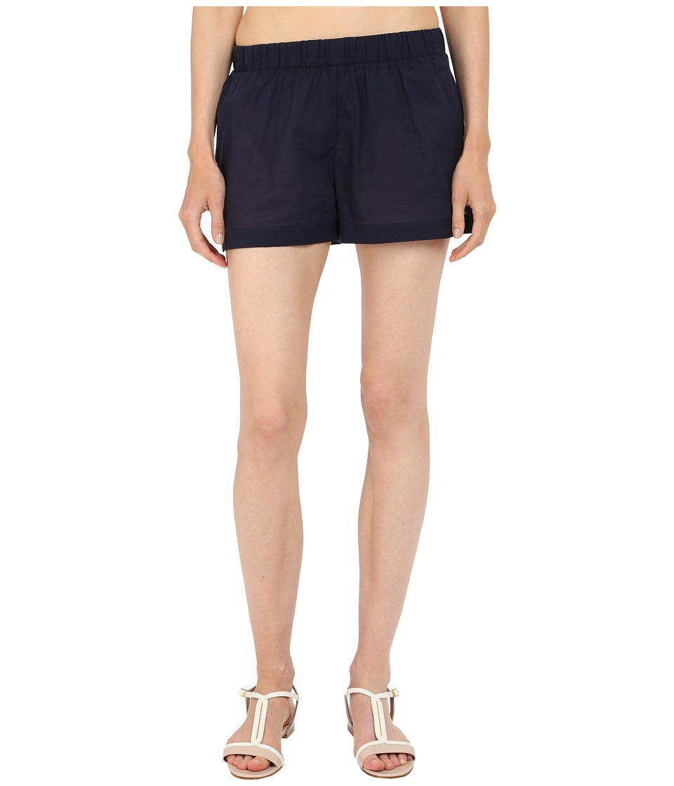 Kate Spade New York - Marina Piccola Shorts Cover-Up (Rich Navy) Women's Swimwear