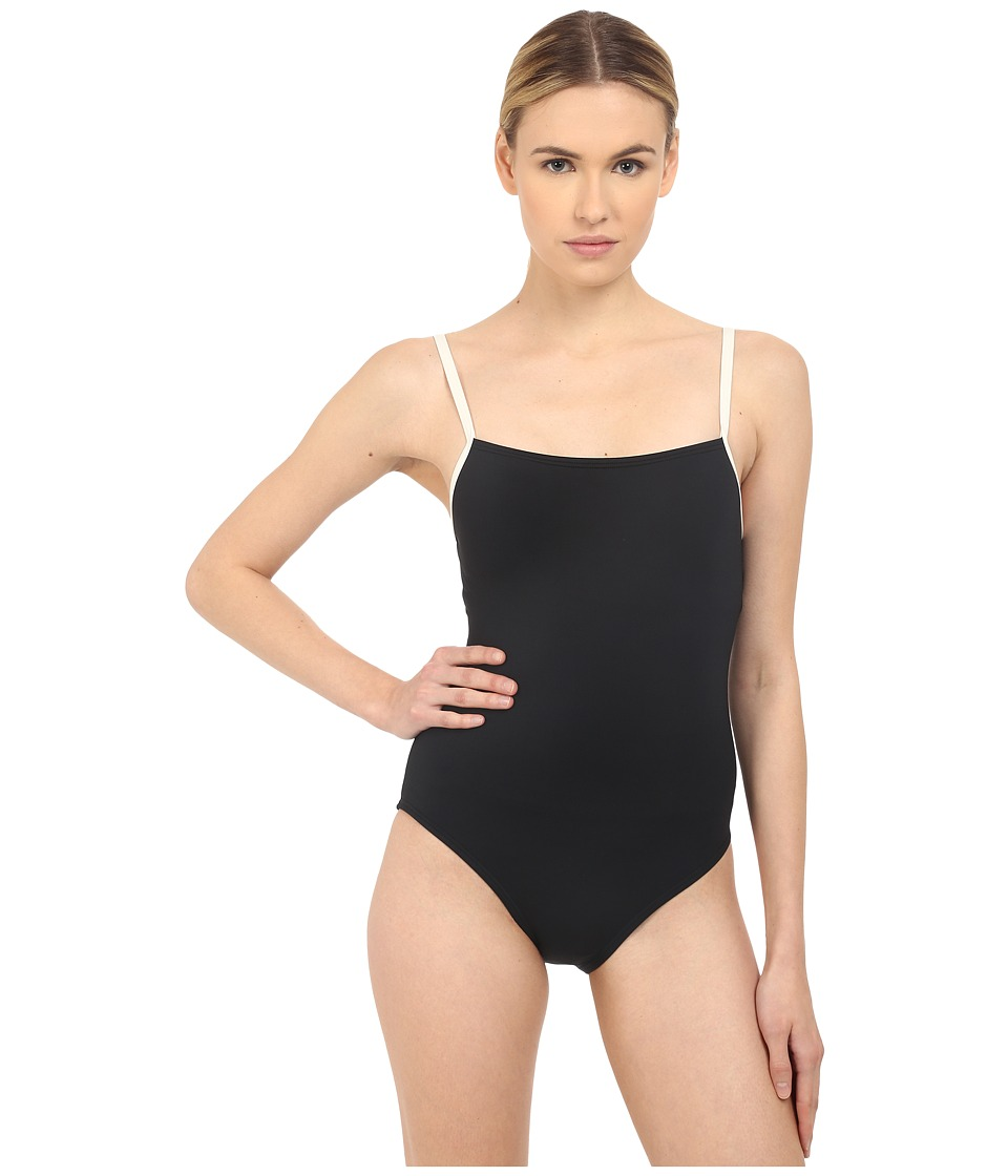 Kate Spade New York - Plage Du Midi Mailott (Black) Women's Swimsuits One Piece