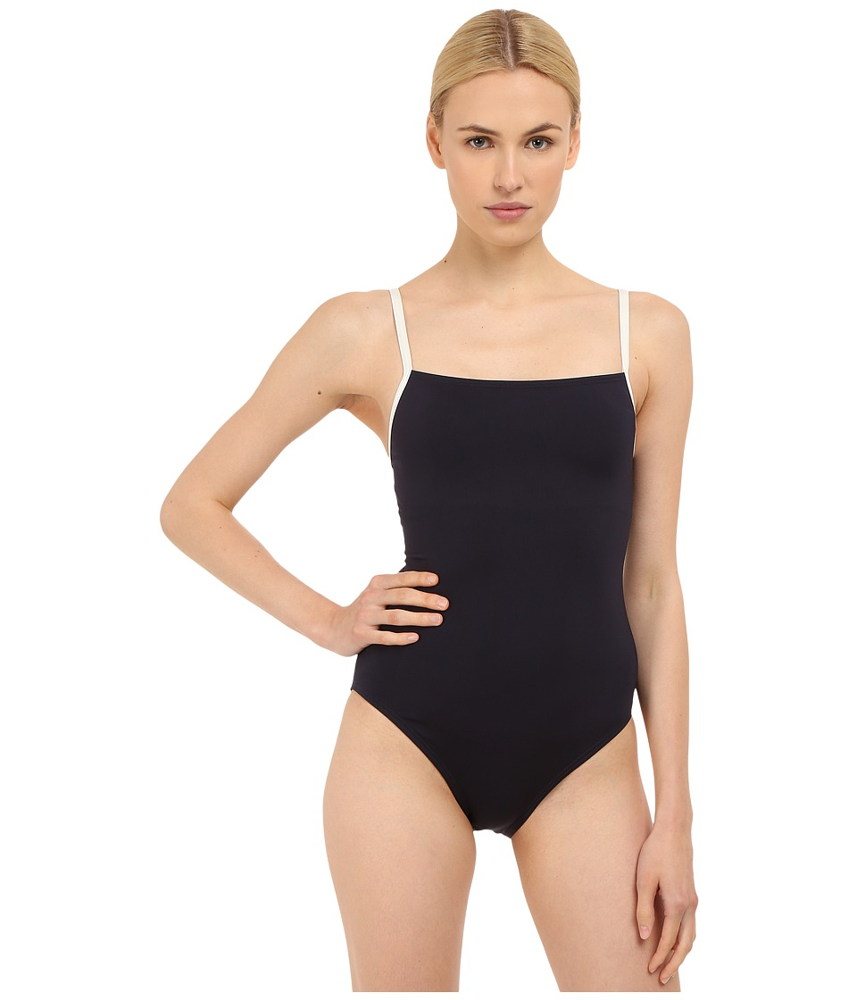 Kate Spade New York - Plage Du Midi Mailott (Rich Navy) Women's Swimsuits One Piece