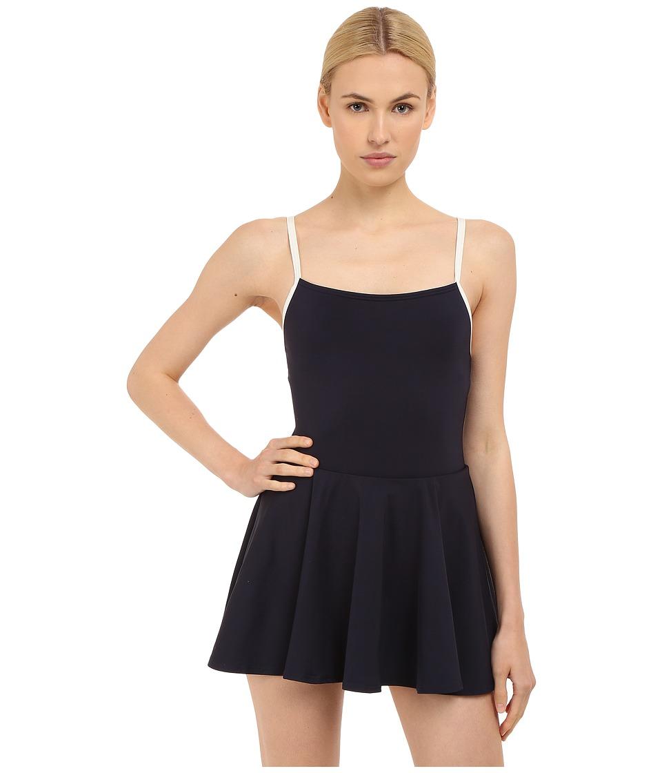 Kate Spade New York - Plage Du Midi Swim Dress (Rich Navy) Women's Swimwear