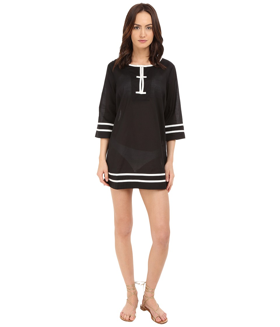 Kate Spade New York - Plage Du Midi Tunic Cover-Up (Black) Women's Swimwear