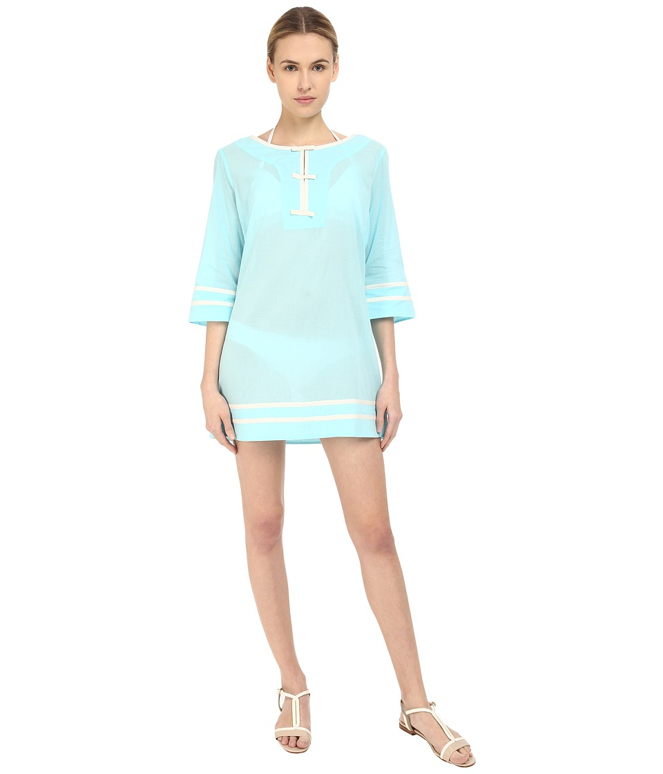 Kate Spade New York - Plage Du Midi Tunic Cover-Up (Air) Women's Swimwear