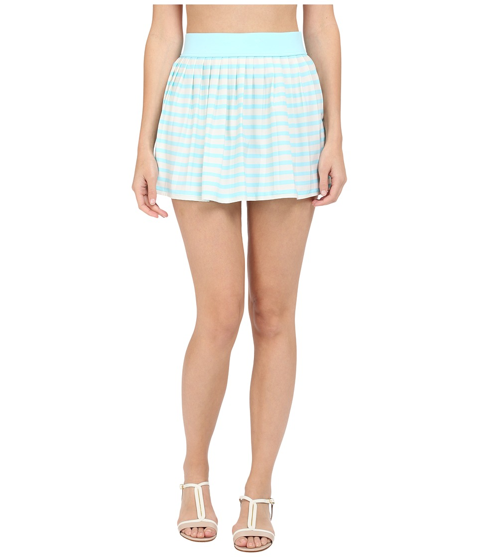 Kate Spade New York - Nahant Shore Pleated Skirt Cover-Up (Air) Women's Swimwear