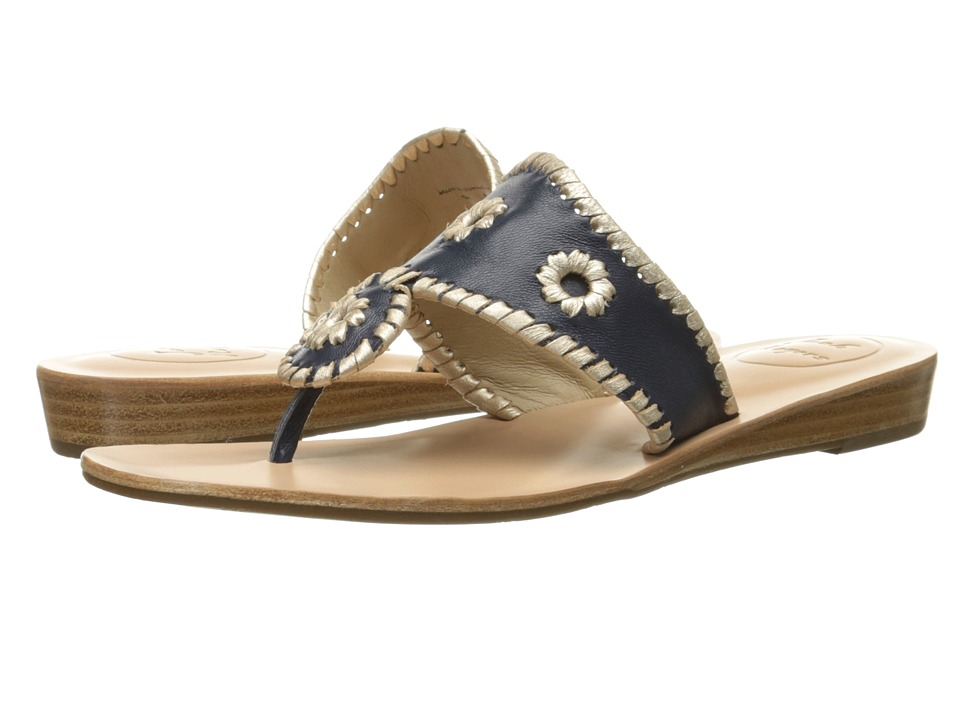 Jack Rogers - Capri (Midnight/Platinum) Women's Sandals