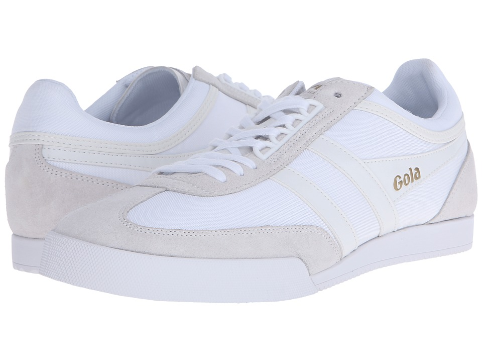 Gola - Super Harrier (White/White) Men's Shoes