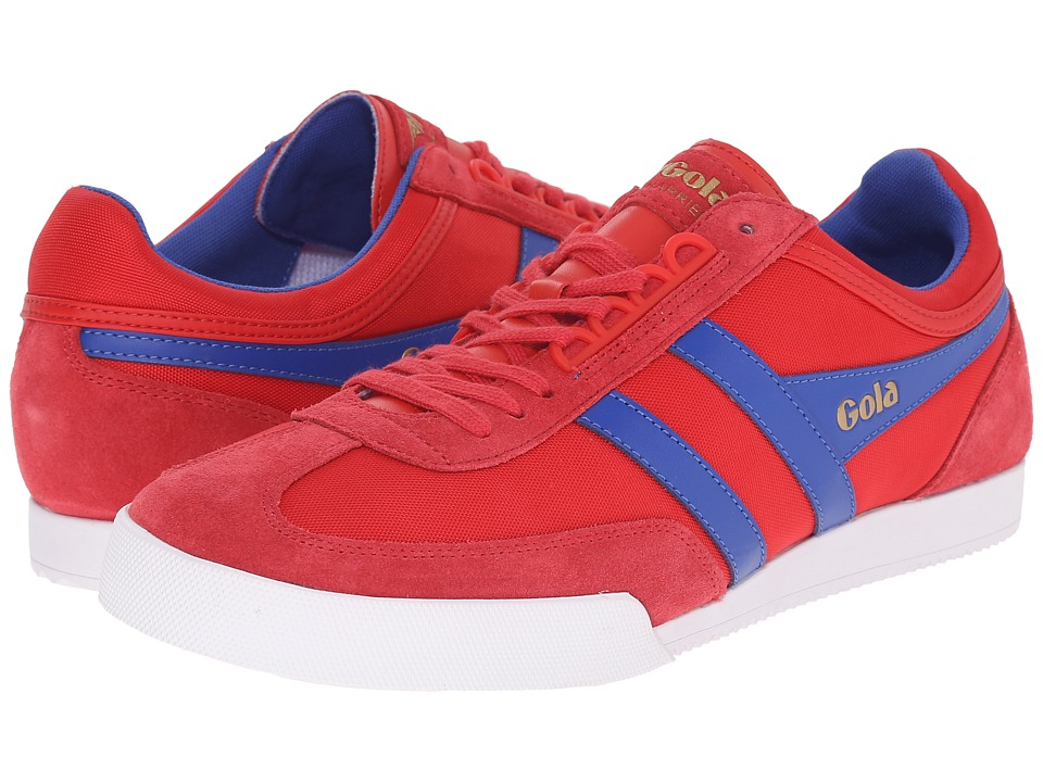 Gola - Super Harrier (Red/Reflex Blue) Men's Shoes
