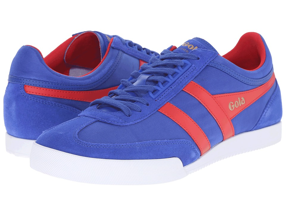 Gola - Super Harrier (Reflex Blue/Red) Men's Shoes