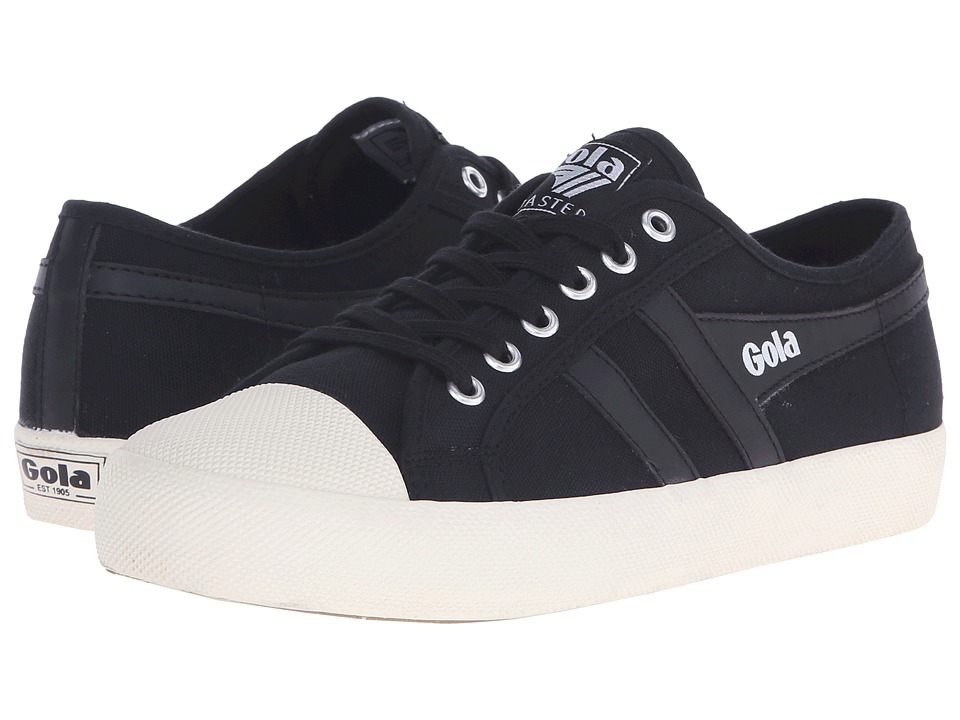 Gola - Coaster (Black/Black/Off-White) Men's Lace up casual Shoes