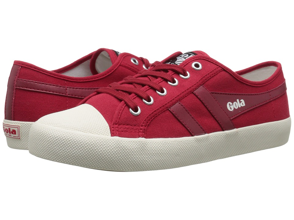 Gola - Coaster (Red/Red) Men's Lace up casual Shoes