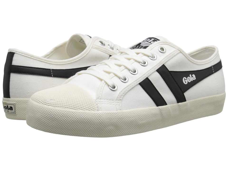 Gola - Coaster (Off-White/Black) Men's Lace up casual Shoes