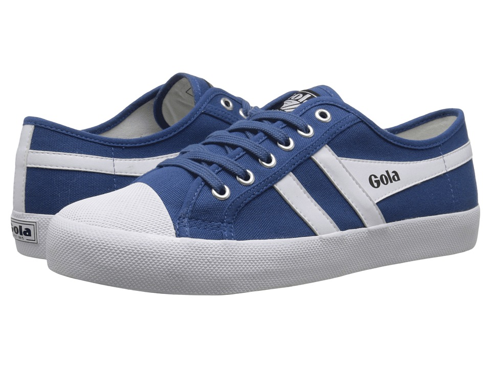 Gola - Coaster (Blue/White) Men's Lace up casual Shoes