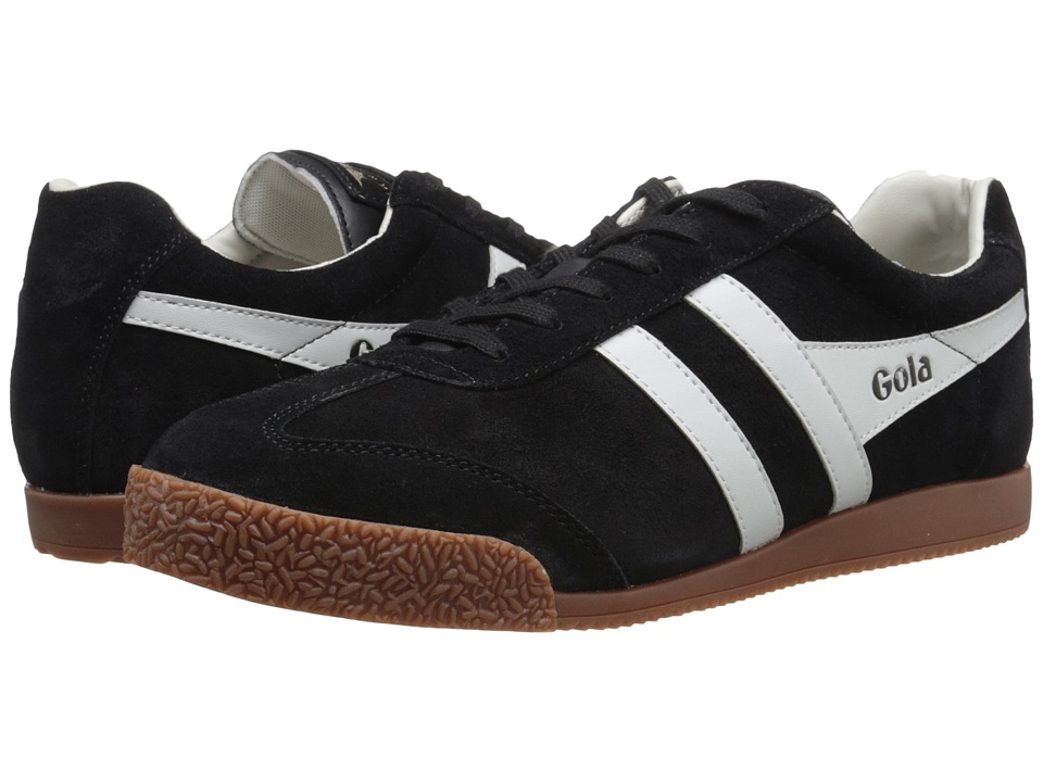 Gola - Harrier (Black/Grey/Grey) Men's Shoes