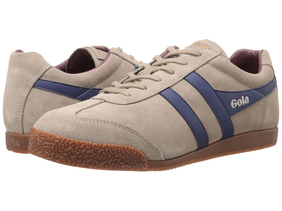 Gola - Harrier (Stone/Navy/Burgundy) Men's Shoes