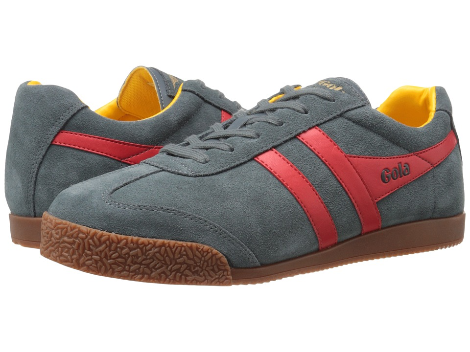 Gola - Harrier (Grey/Red/Sun) Men's Shoes