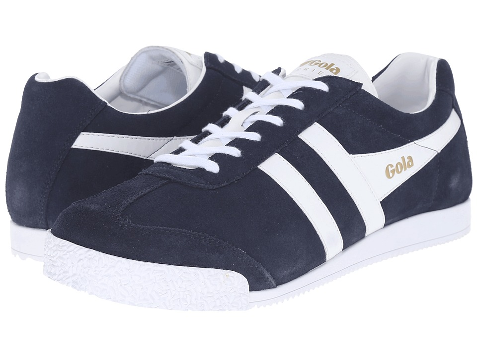 Gola - Harrier (Navy/White) Men's Shoes