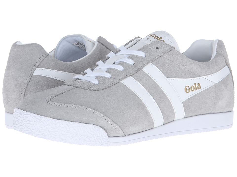 Gola - Harrier (Grey/White) Men's Shoes