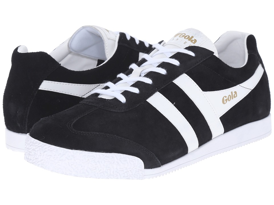 Gola - Harrier (Black/White 1) Men's Shoes