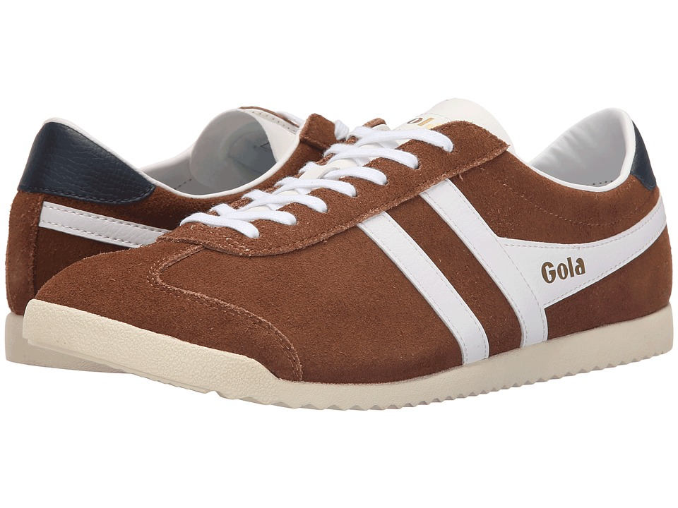 Gola - Bullet Suede (Tobacco/White) Men's Shoes