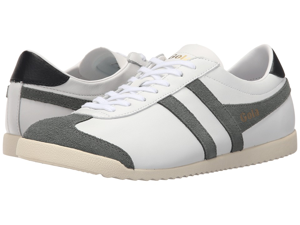 Gola - Bullet Leather (White/Grey) Men's Shoes