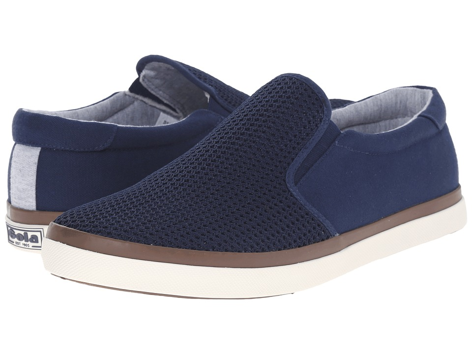 Gola - Seeker Slip Mesh (Navy) Men's Shoes