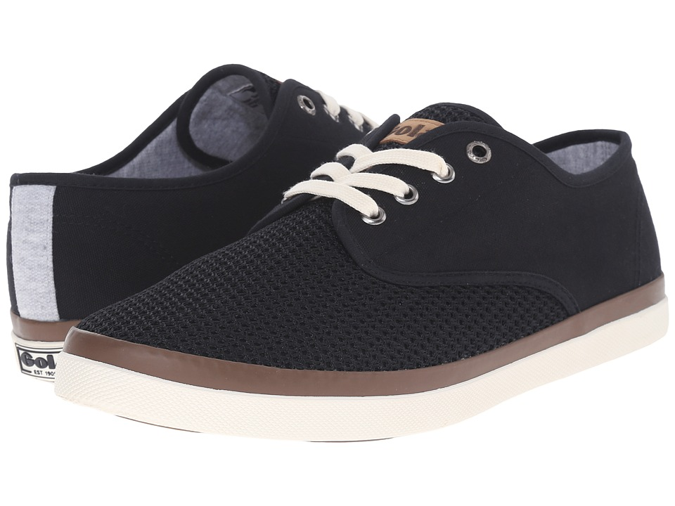 Gola - Seeker Mesh (Black) Men's Shoes