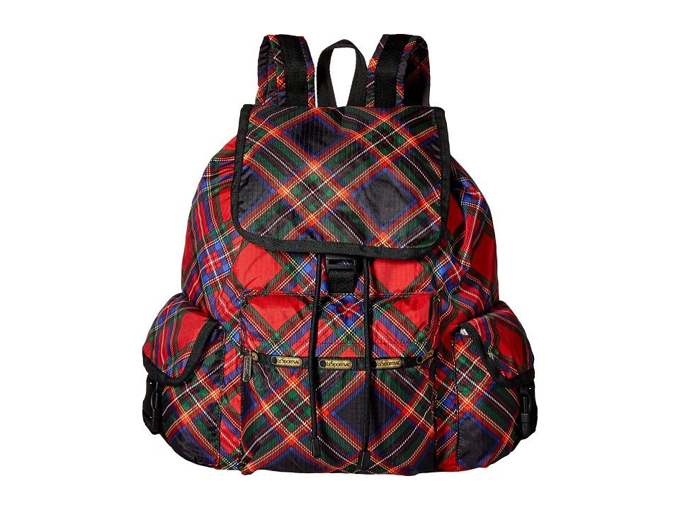 LeSportsac - Voyager Backpack (Cozy Voyager) Backpack Bags