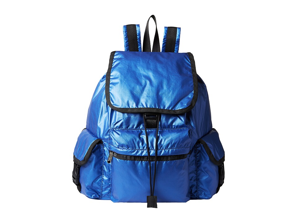 LeSportsac - Voyager Backpack (Cobalt Lightning) Backpack Bags