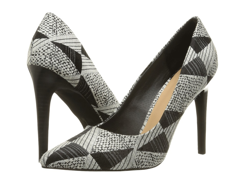 Joe's Jeans - Knightly (White/Black) High Heels